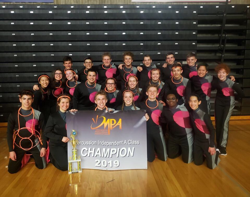 LHS Drumline Wraps up their season in Ohio at Percussion and Winds World Championship