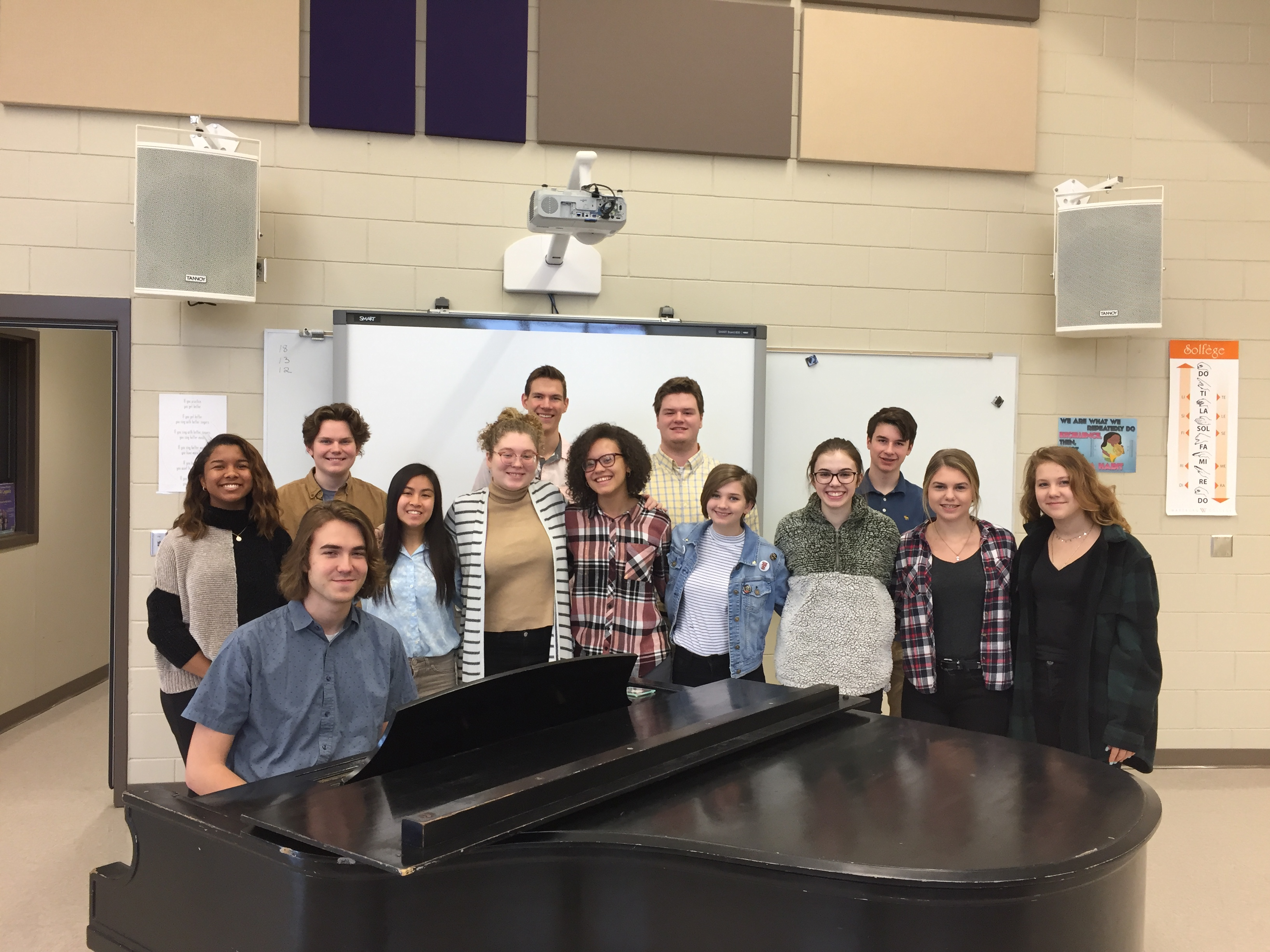 LHS Choir earns Superior ratings at MSHSL Solo/Ensemble Contest