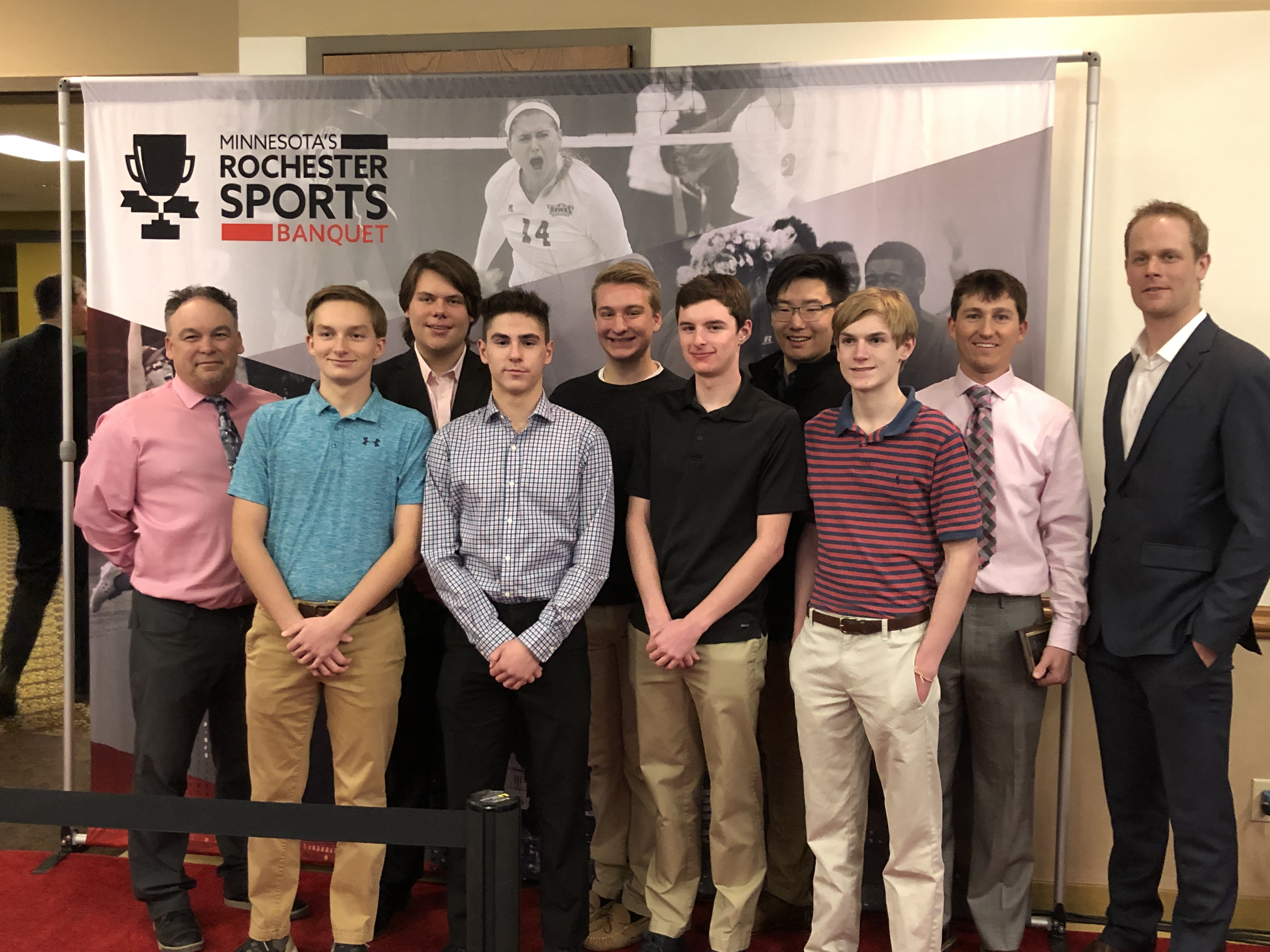 Rochester Sports Banquet Team of the Year Finalist