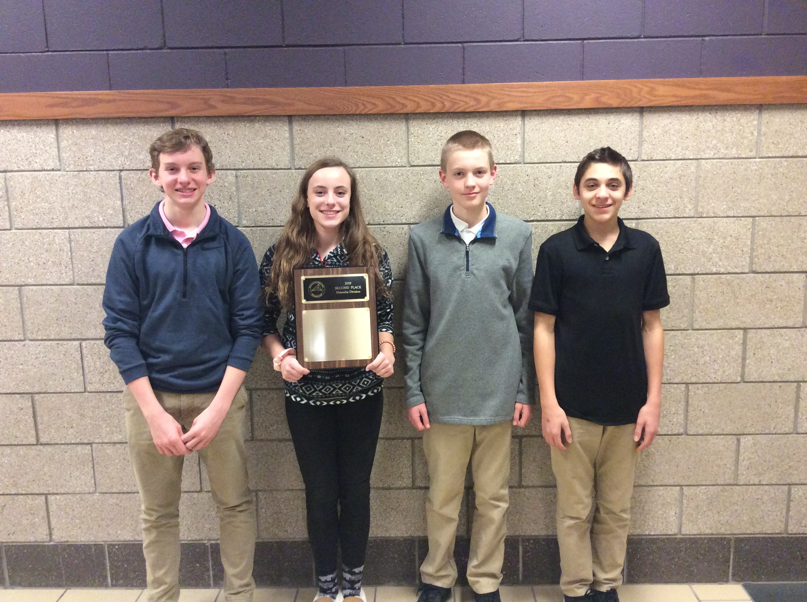 LHS Math League Places 5th at State