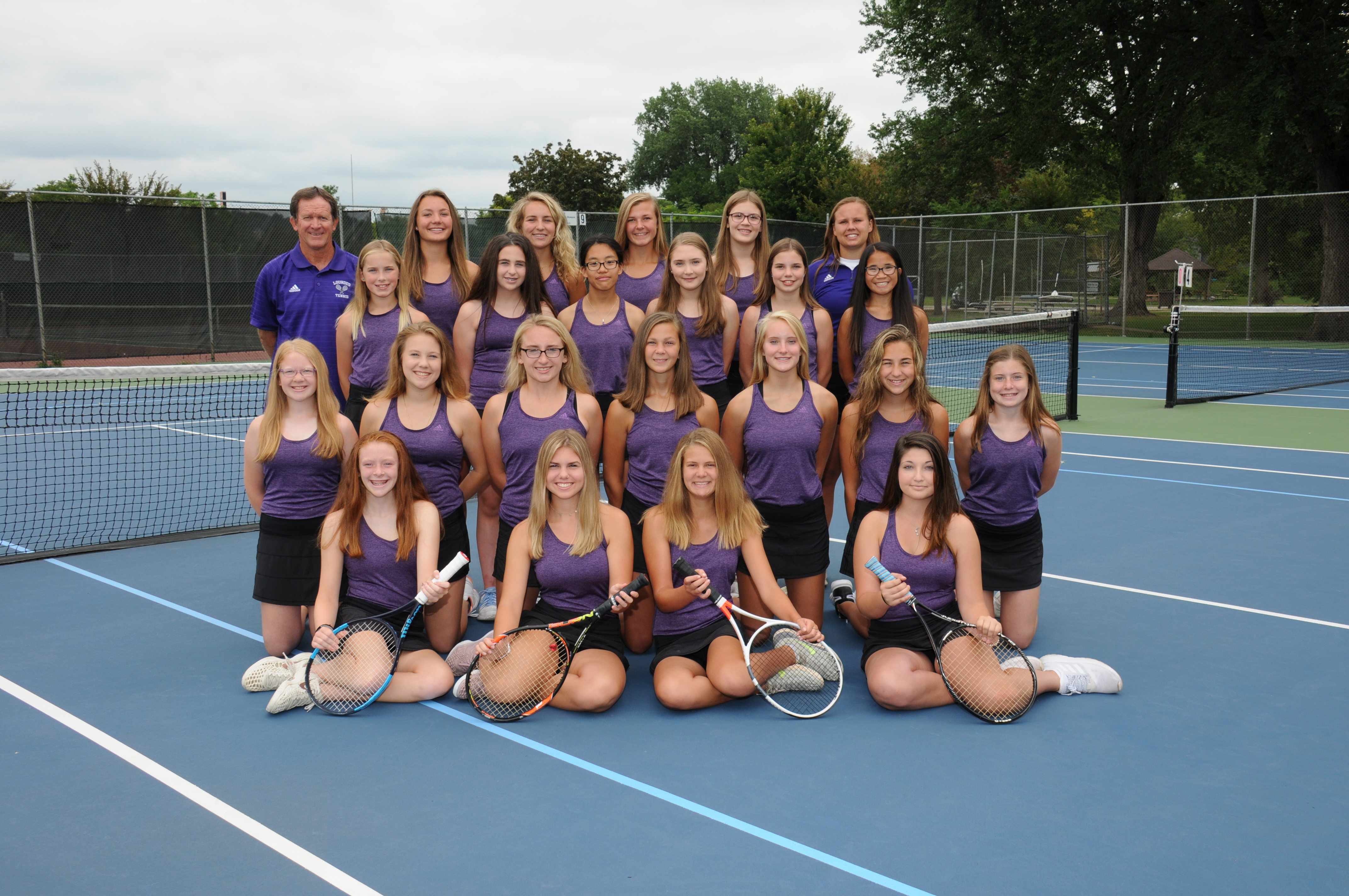 Girls Tennis makes it to state again for the 24th year!!