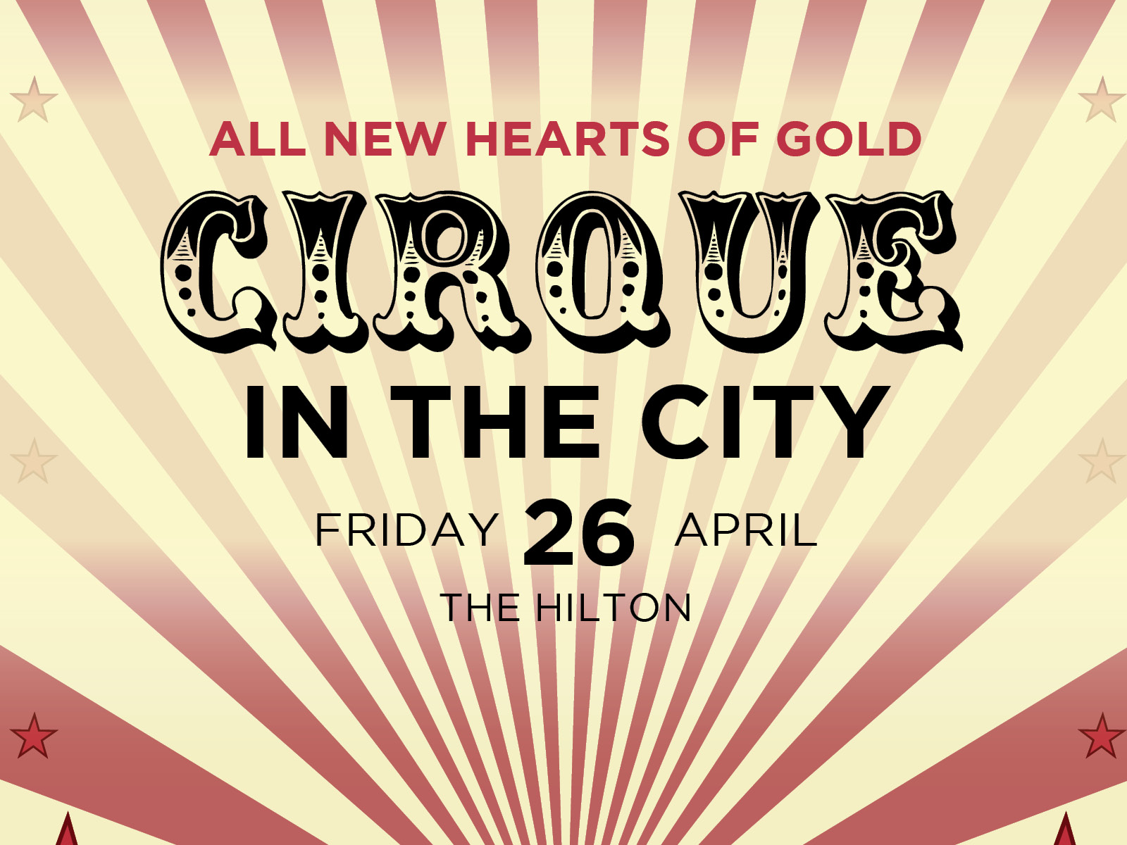 Cirque in the City - All New Hearts of Gold