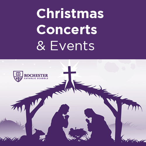 Attend one or all of our Christmas concerts presented by each school throughout the month of December