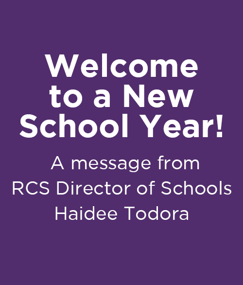 Check out the Great Things Happening at RCS