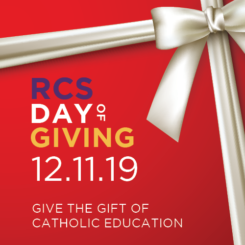 Families, alumni, and friends of RCS are invited to stop by to make a gift or celebrate the day with us! Click to learn more