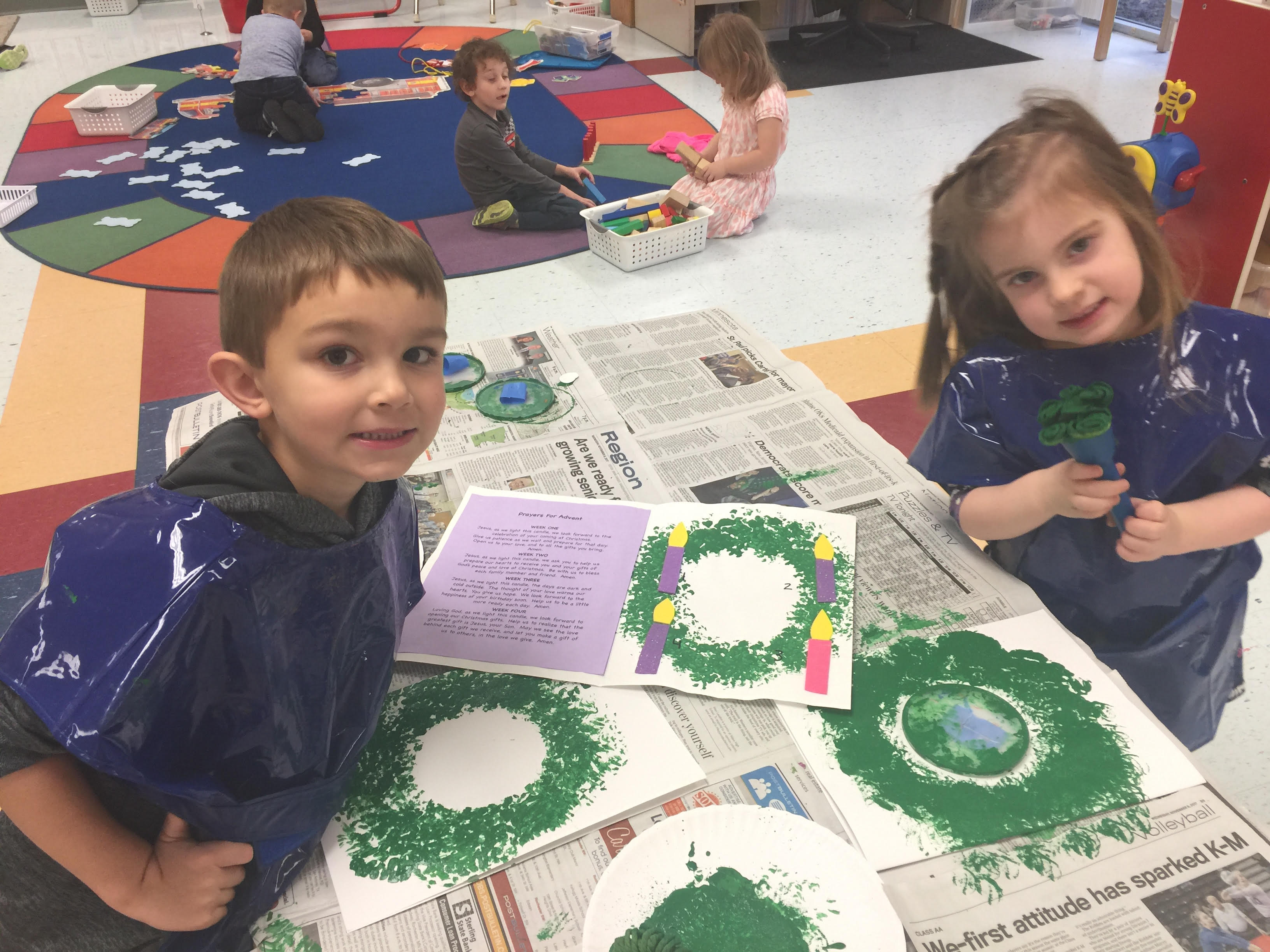 Advent Activities at Holy Spirit